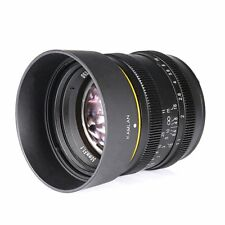 Kamlan 50mm F1.1 APS-C Large Aperture Manual Focus Lens for Nikon N1 Mount