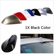 Universal Black Shark Fin Style Car Roof Radio Antenna FM AM Aerials Decoration