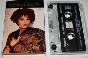 Cassette Tape Single - Whitney Houston All the Man that I Need & Dancin' Edge