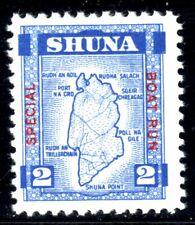 """GB Locals SHUNA (Scotland) 1949 """"Special Boat Run"""" £2 Stamp U/M"""