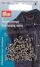 Prym 3 Mantelaufhänger Eisen rostgeschützt silberfarbig  552195