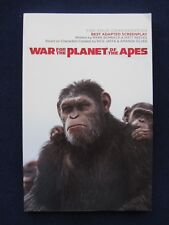 WAR FOR THE PLANET OF THE APES Screenplay - 1st Appearance in Book Form