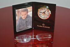 VINTAGE Purdue Frederick Photo Frame Clock