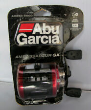 Abu Garcia AMBSX-6600 Ambassadeur SX Fishing Baitcast Round Reel - Right Handed
