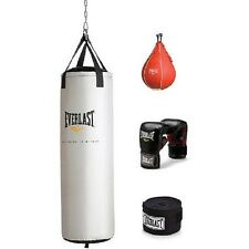 Everlast 70 lb Heavy Bag Kit w gloves wraps boxing MMA punching training NEW