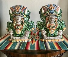 Vintage Oaxaca, Mexican Pottery Vase Set. New lowered Price. FREE SHIPPING!!!