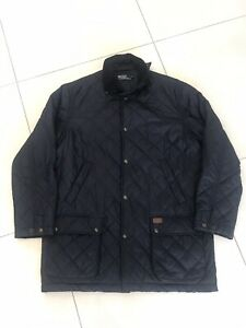 Gorgeous Men's Vintage Polo Ralph Lauren Quilted Hunting Jacket - Medium