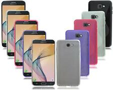 For Samsung Galaxy J7 Prime SM-G6100Y New Gel Silicone Black Phone Case Cover