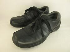 Mens Sketchers F-50 Black Leather Shoes Size 12D