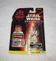 Star Wars Obi-Wan Kenobi Action Figure Episode 1 Hasbro 1998 MOC