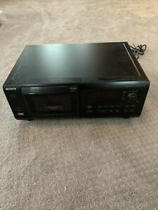 Sony CDP-CX55 Compact Disc Player 50+1 CD Tested! Working!