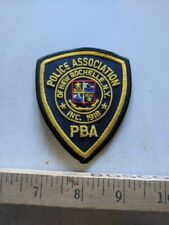 1918 NEW ROCHELLE NEW YORK POLICE DEPARTMENT PBA PATCH / POLICE ASSOCIATION NRPD