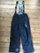 Spyder Men's Ski Trousers Sallopettes Size M Medium Black W30 - 32 L30