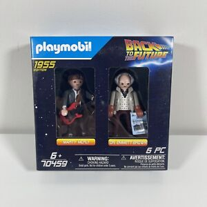 Playmobil 70459 Back to the Future Doc Brown and Marty 1955 2 Figure Pack