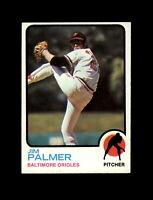 1973 Topps Baseball #160 Jim Palmer (Orioles) NM