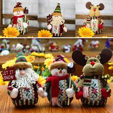 1Pcs Poupée Ornament Père Noël Décor Arbre Noël Table Maison Enfant Fête 18*13cm