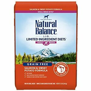 Natural Balance L.I.D. Limited Ingredient Diets Small Breed Bites Dry Dog Food,