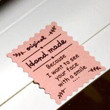 120pc Original Hand Made Stamp Sticker DIY Cake Baking Sealing Label Paper Craft