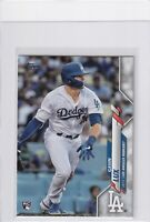 2020 TOPPS SERIES ONE RC GAVIN LUX LOS ANGELES DODGERS ROOKIE - B7684
