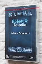 Africa Screams (DVD, 2004), Brand new and sealed, free shipping