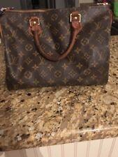 Authenic Louis Vuitton Speedy 30 Handbag Used