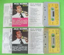 2 MC JULIO IGLESIAS Special parte 1 2 1979 italy OXFORD LOX 1 no cd lp dvd vhs