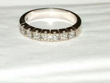 CHRIST Ring mit  Brillanten 0,70 ct, 585 Weißgold, Memoire Halbmemoire, Gr. 62