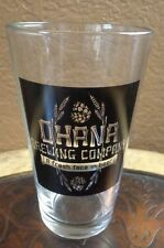 OHANA Brewing Company Collectible Glass - A Fresh Face In Bear