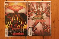 Absolute Carnage vs Deadpool #1 2 3 1st Print Complete CVR A NM Set
