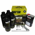 Raptor Truck Bed Liner, Black, with FREE Spray Gun, UPO 820V