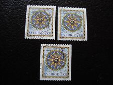 SUEDE - timbre yvert et tellier n° 1989 x3 obl (A29) stamp sweden (R)