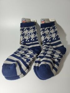 2 PAIR Dallas Cowboys NFL Quarter Socks Youth Size 13,1-5 New