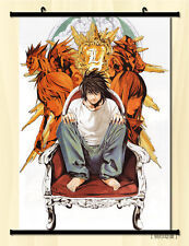 """8""""*12"""" Home Decor Japanese Anime Death note Cosplay Wall Poster Scroll C"""