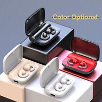 TWS Bluetooth 5.0 Headset Headphone WIFI Earphone Stereo Earbuds Double Ear