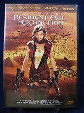 Resident Evil: Extinction (DVD, 2008) Like New