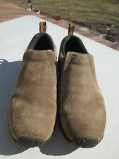 "Men's  ""Merrell Grayish Jungle Moc Gunsmoke Slip On Shoes""  Size 11 / Ortholite"