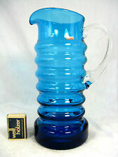 70´s German pop art Design Karl Friedrich vidrio Krug/Glass pitcher Jug 25 cm