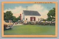 Antiques Auction on Cape Cod—Rare Vintage Linen Postcard—Harwichport 1954