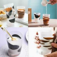 Cute Cat Paw Mug Matte Glass Drink Cup Breakfast Milk Children Christmas Gift