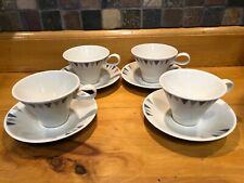 MCM Vintage Impromptu Iroquois By Ben Seibel Pyramid Coffee/Tea Cup W/Saucer-4
