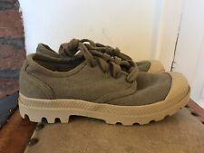 Palladium Women's Canvas Sneakers UK3.5 / EU36 Concrete (Brown/Grey)