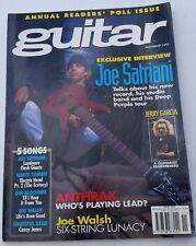 Guitar For The Practicing Musician November 1995 Satriani Anthrax Jerry Garcia