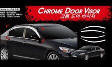Chrome Window Rain, Sun Door Visor 4Pcs For Hyundai Genesis 2009-2013