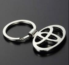 Auto Hollow Out Car Logo Metal Key Chains Pendant Holder Keyring for Toyota