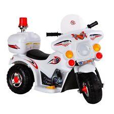 Kids Ride on Motorbike 3 Wheel White