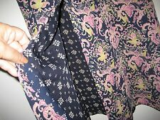 """Woman's Skirt Double Side Pattern Size 32-34"""" Polyester PreOwned Great Condition"""