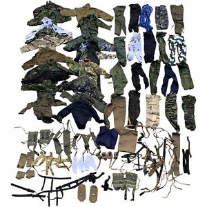 100x 1:6 Clothes Pants Uniform For 12'' WWII USA Germany British Soldier BBI Toy