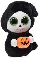Ty Cuddly Plush Treats the Ghost Beanie Boo Halloween Soft Toy 15cm