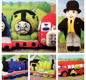 Thomas The Tank Engine & Friends Toys Knitting Pattern