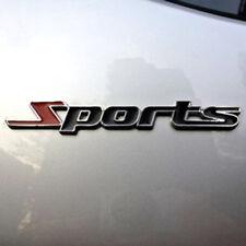 3D Sports Logo Metal Emblem Badge Chrome Car Sticker Decal Auto Deco Word letter